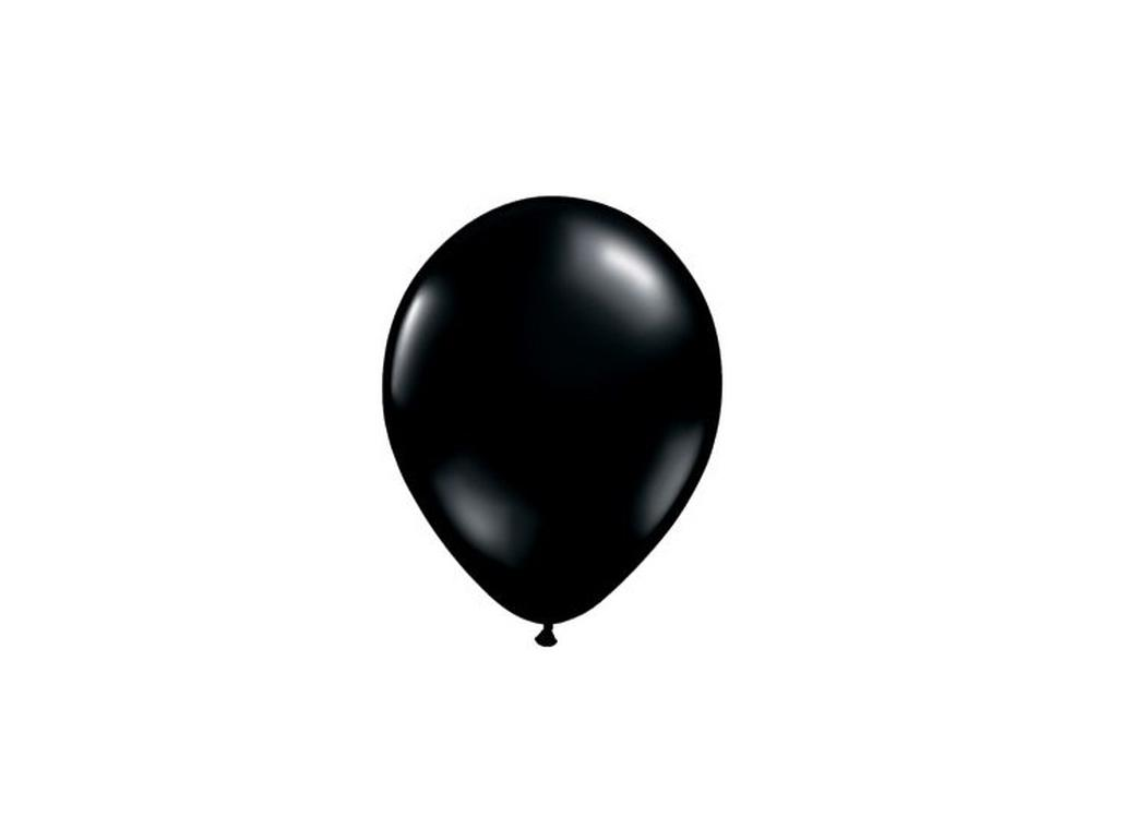 Black Balloons 5in 10pk