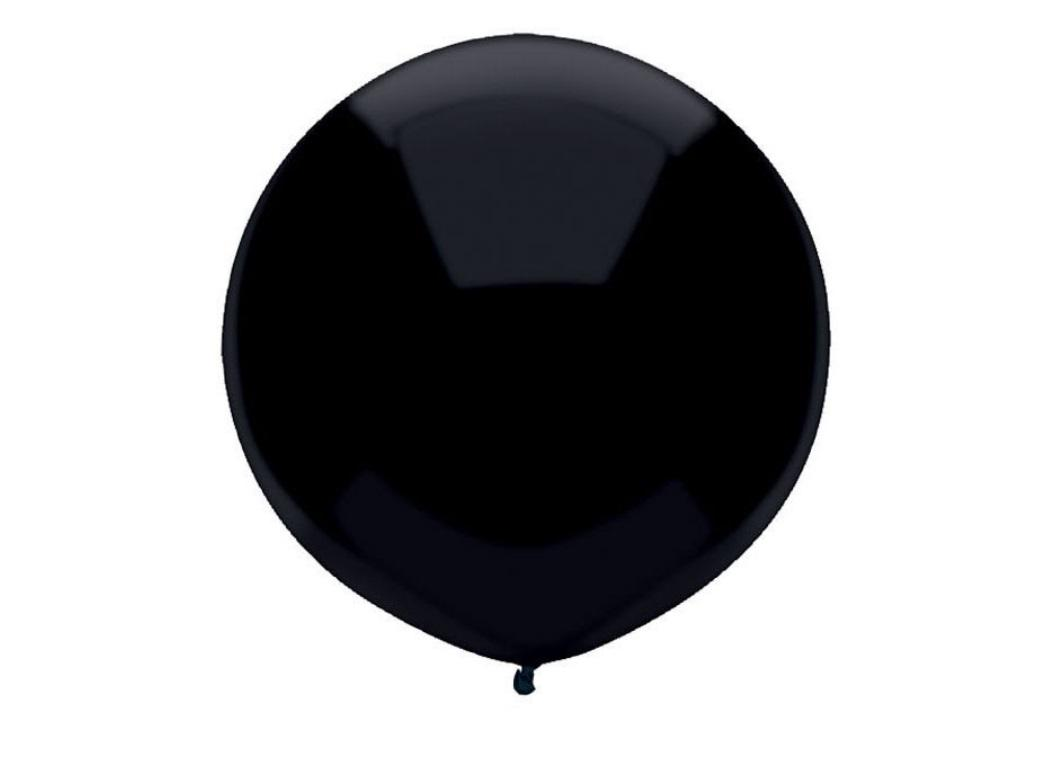 43cm Balloon - Pitch Black