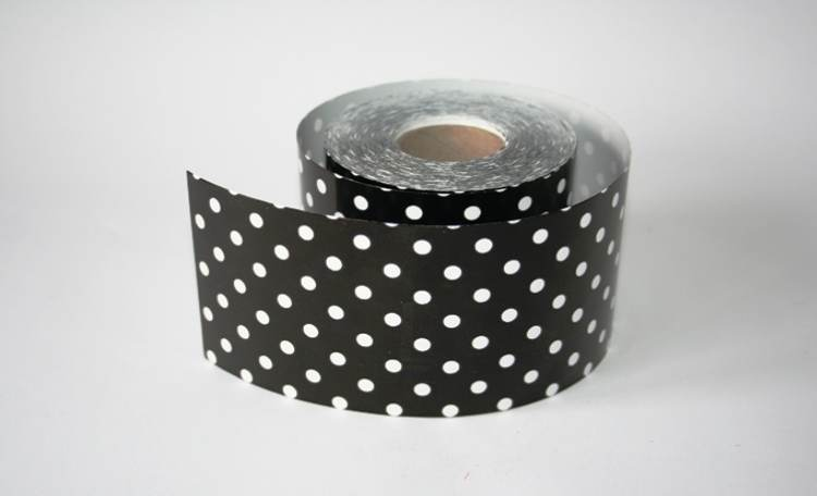 Black Polka Dot – Mini Table Runner