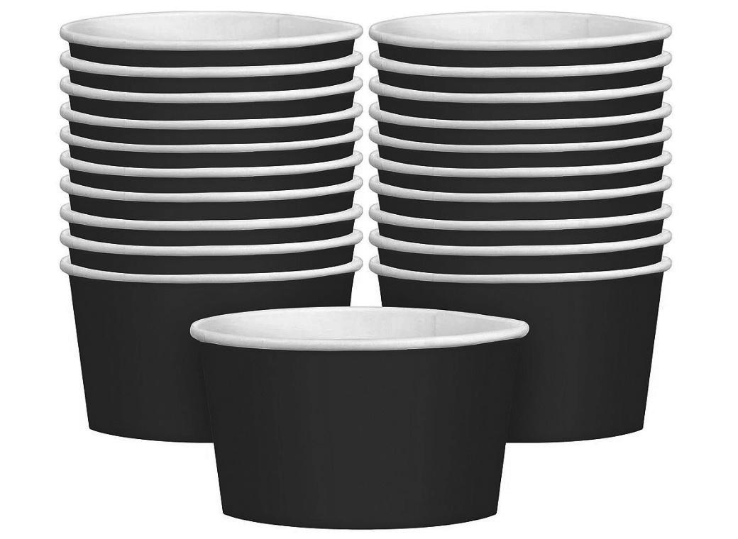 Treat Cups 20pk - Black