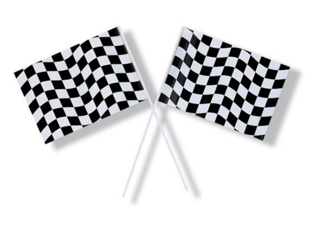 Black & White Checkered Flag