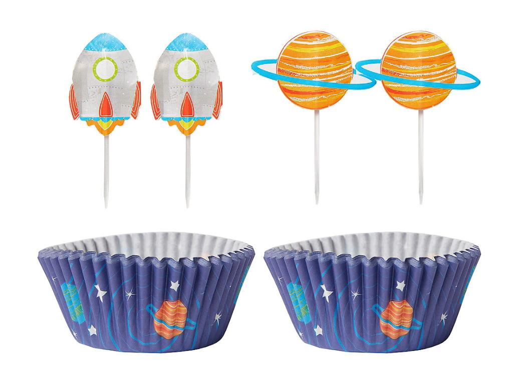 Blast Off Cupcake Decorating Kit