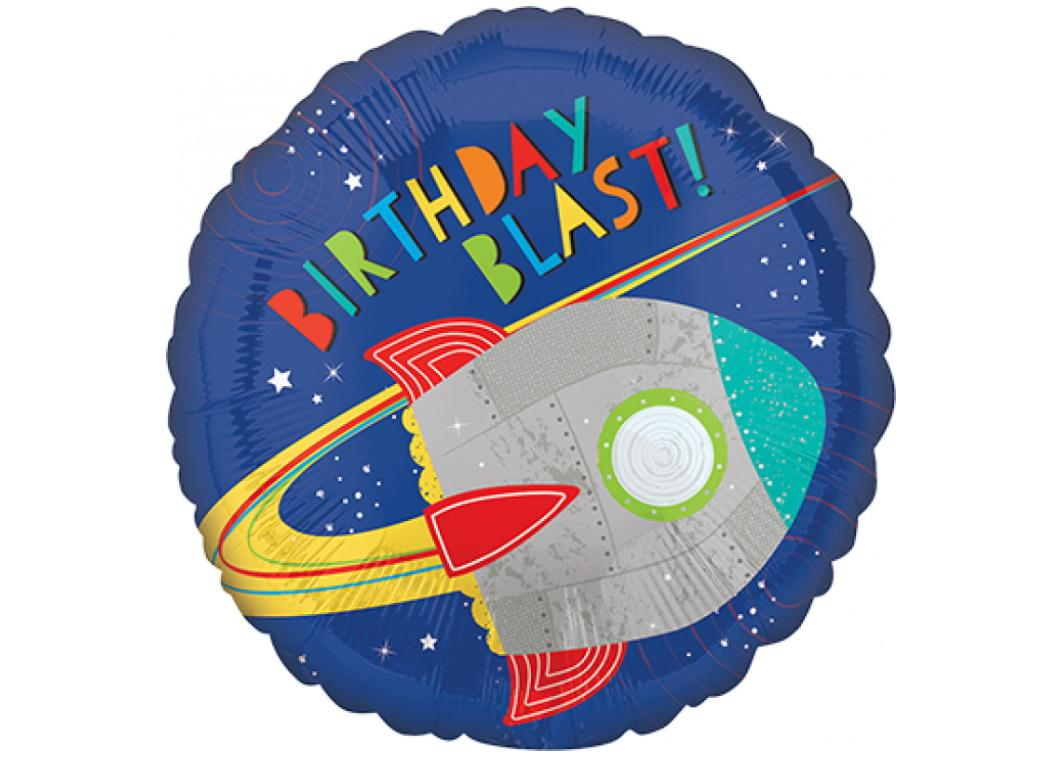 Blast Off Foil Balloon