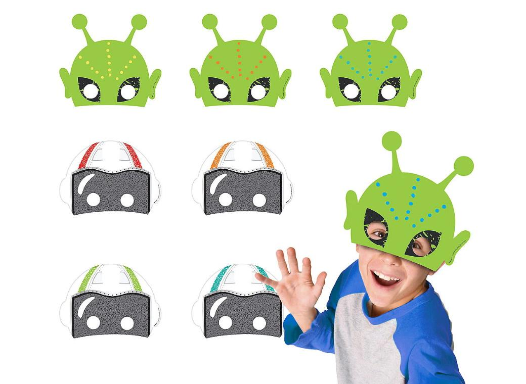 Blast Off Masks 8pk