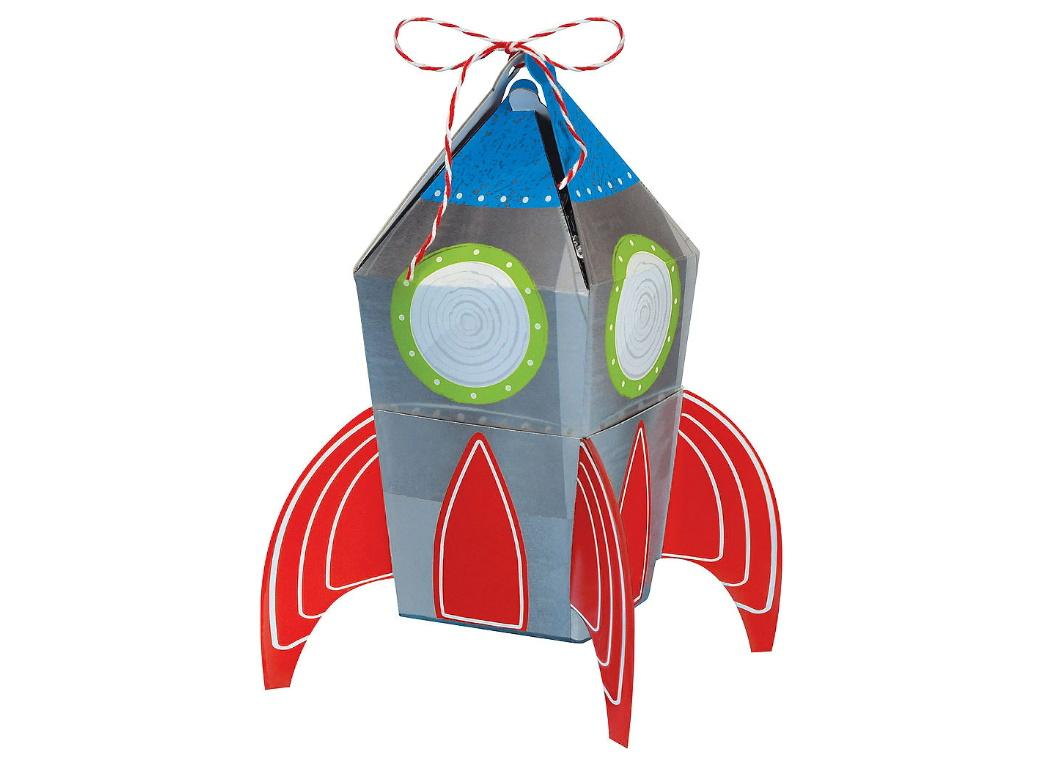 Blast Off Favour Boxes 8pk