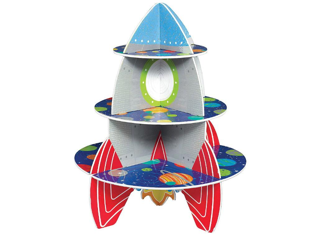 Blast Off Rocket Treat Stand
