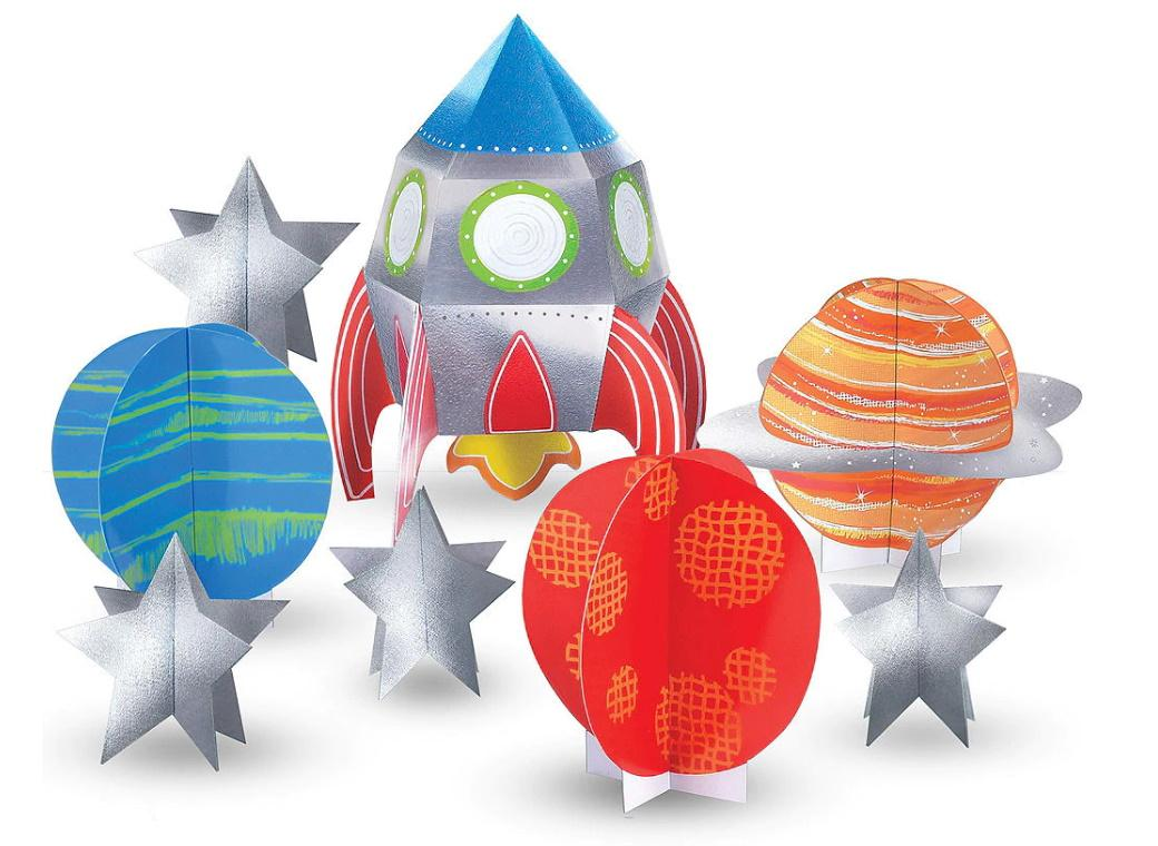 Blast Off Table Decorating Kit