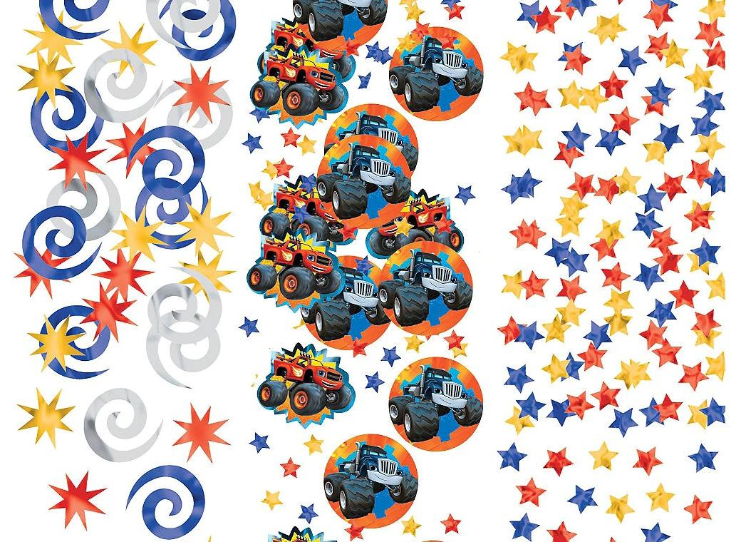 Blaze & the Monster Machines Confetti Value Pack
