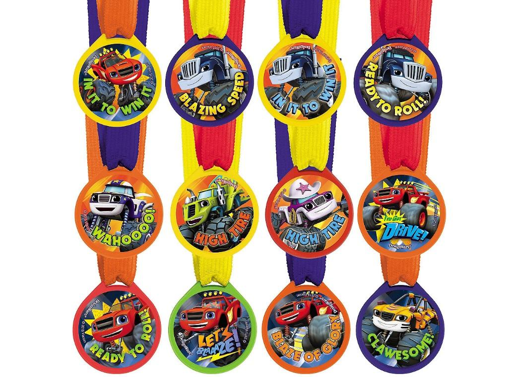 Blaze & the Monster Machines Medals 12pk
