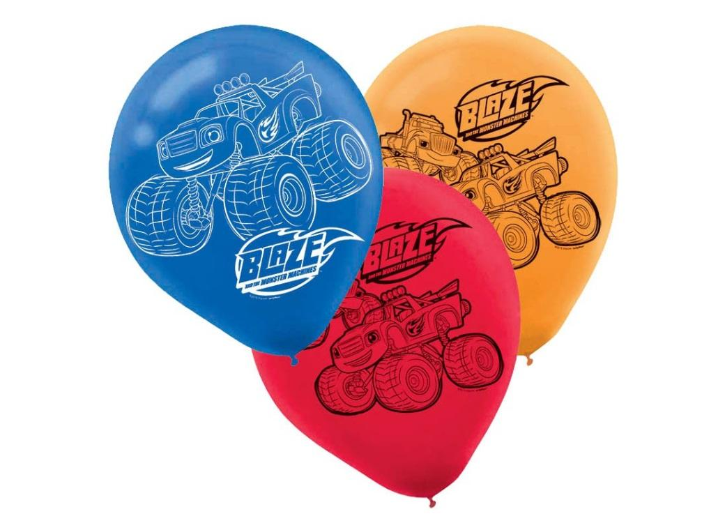 Blaze & the Monster Machines Balloons - 6pk