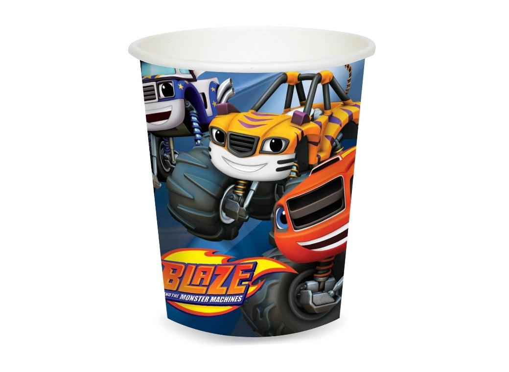 Blaze & the Monster Machines Cups - 8pk