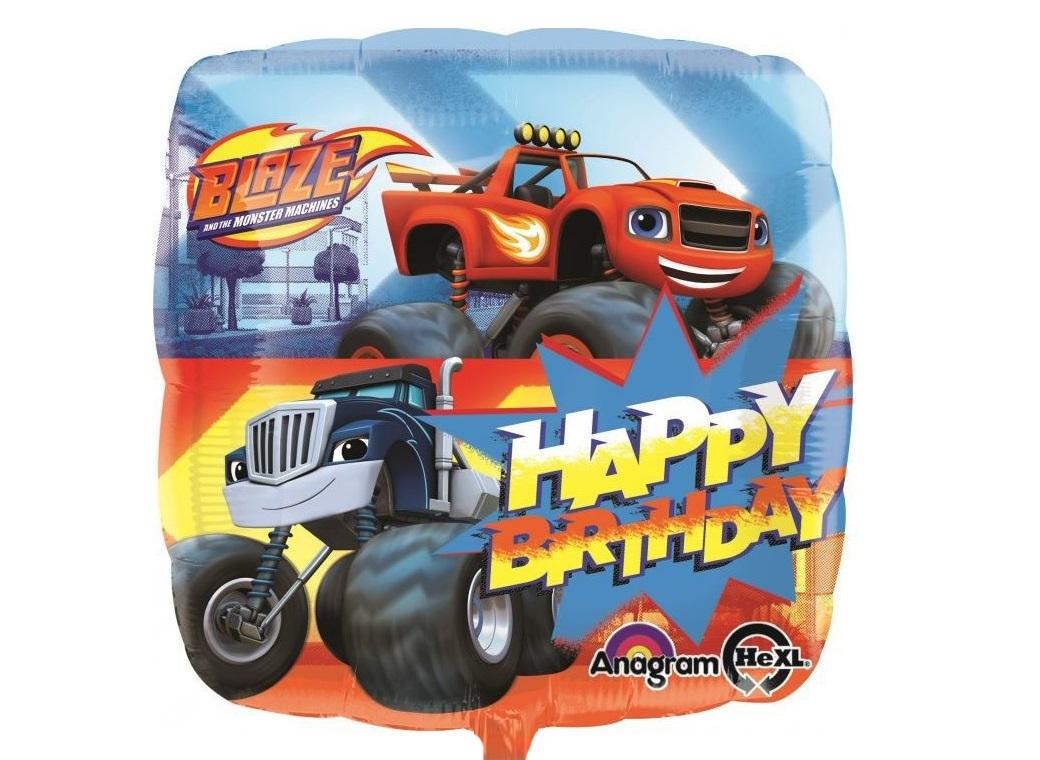 Blaze & the Monster Machines HB Foil Balloon