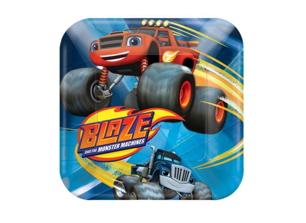 Blaze & the Monster Machines Lunch Plates - 8pk