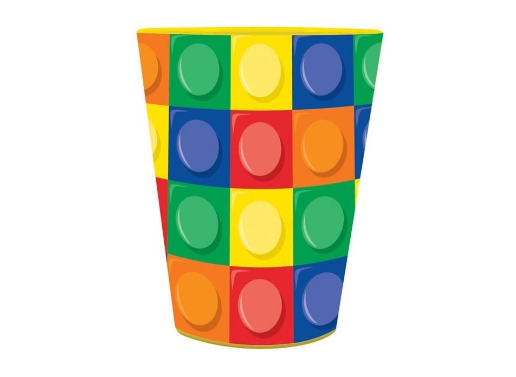 Block Party Keepsake Cup