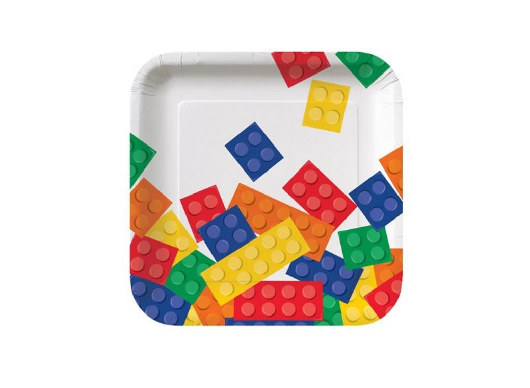 Block Party Lunch Plates - 8pk