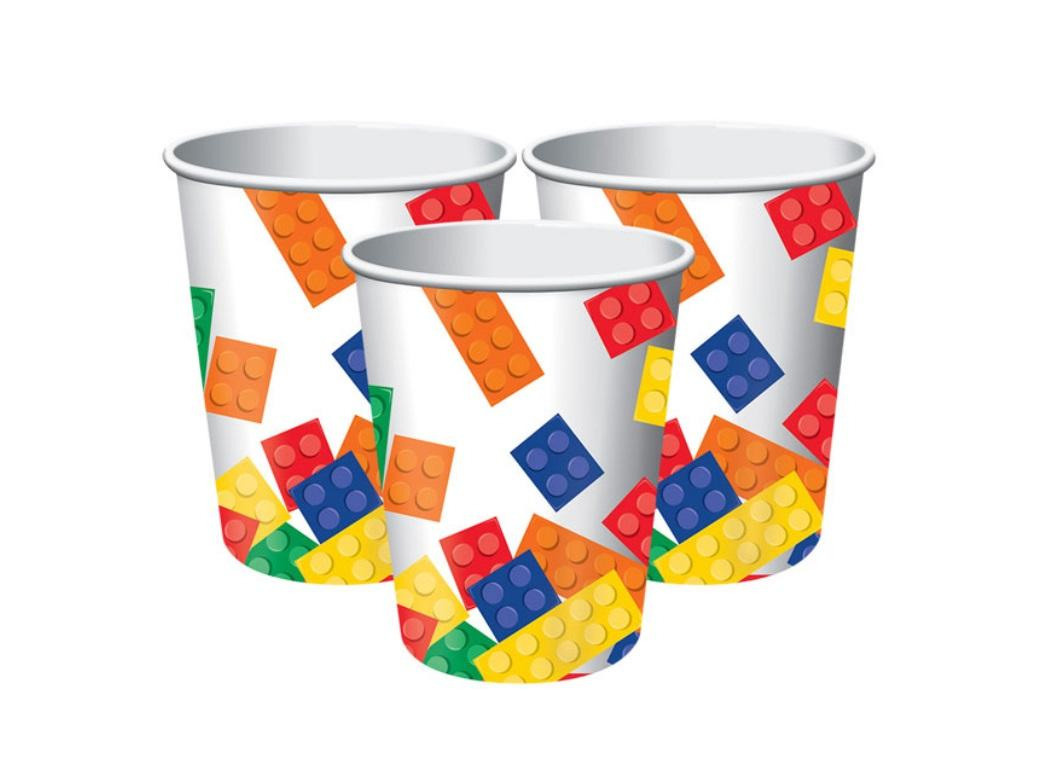 Block Party Cups - 8pk