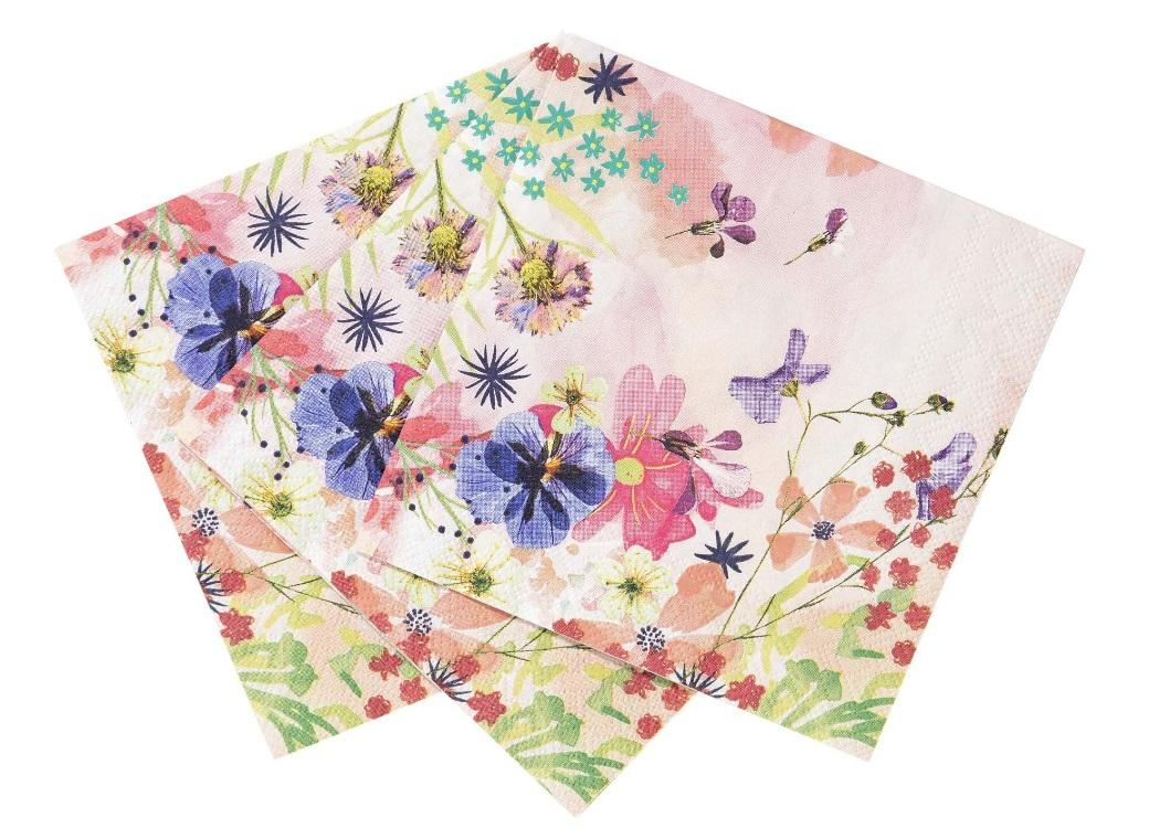 Blossom Girls Cocktail Napkins 20pk