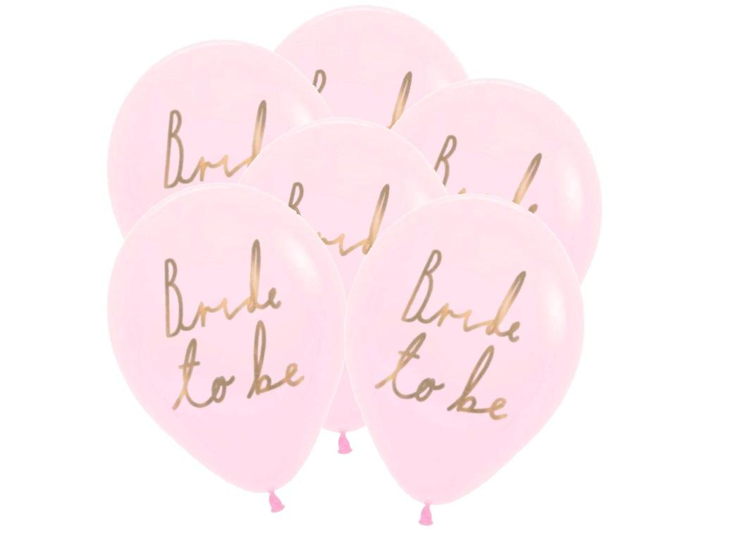 Blossom Girls Bride to Be Balloons