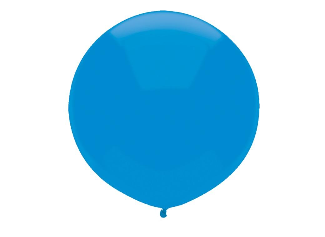 43cm Balloon - Bright Blue