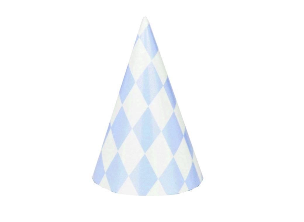 Blue Diamonds - Party Hats