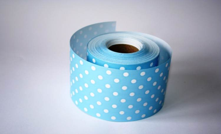 Blue Polka Dot – Mini Table Runner