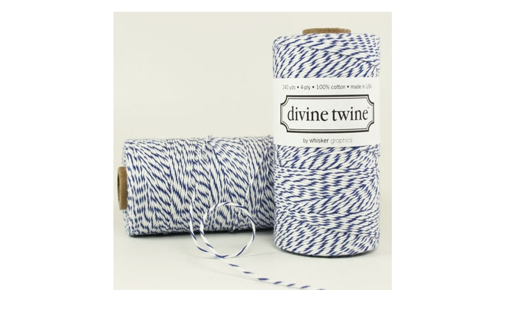100% Cotton Bakers Twine - Blueberry