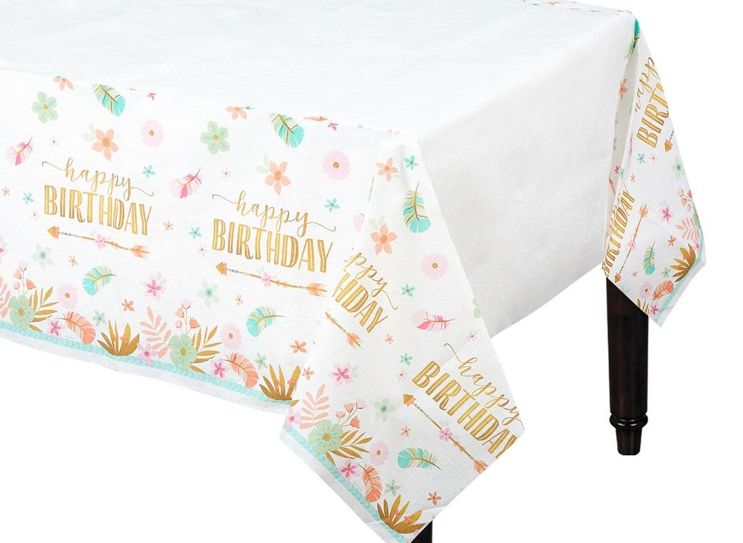 Boho Girl Tablecover