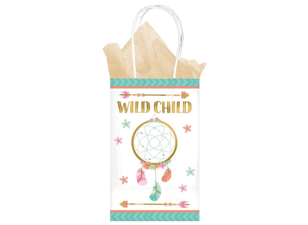 Boho Girl Treat Bags 8pk