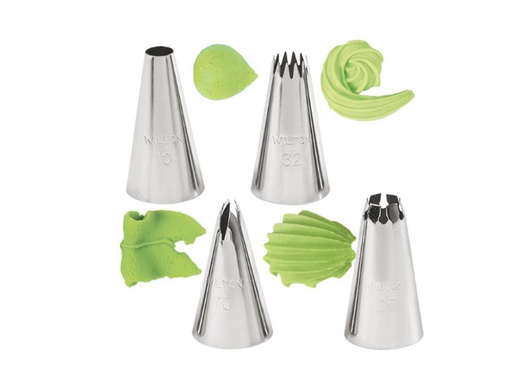 Wilton 4 pce Borders Tip Set