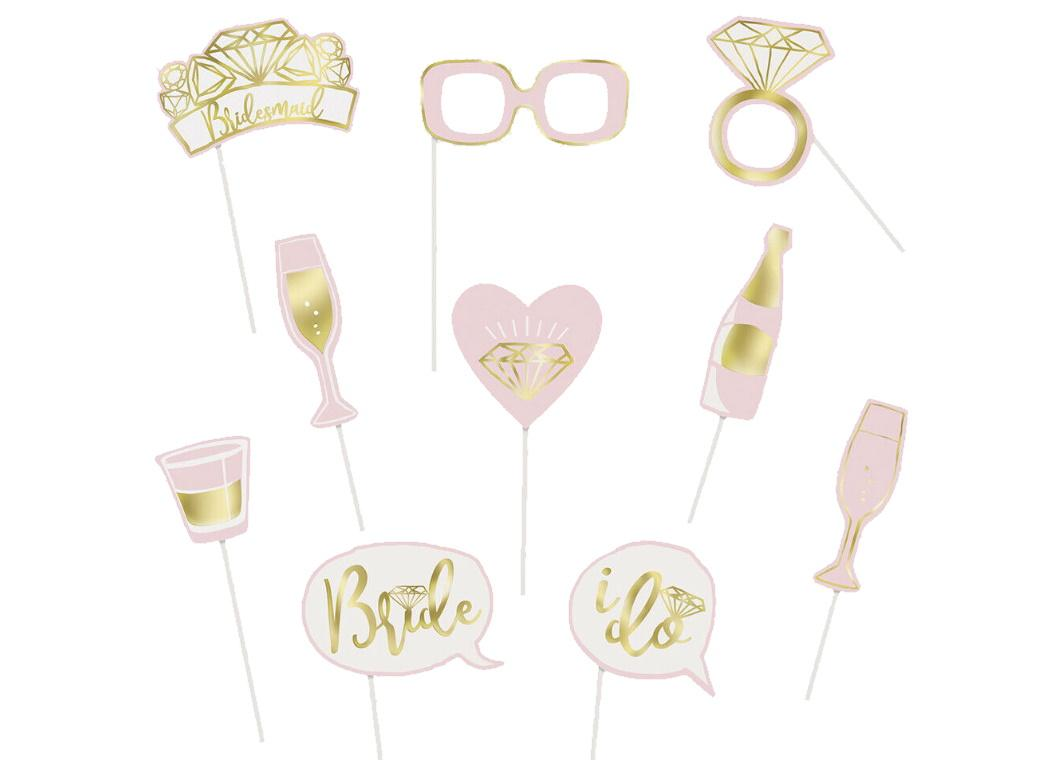 Bridal Shower Photo Booth Props