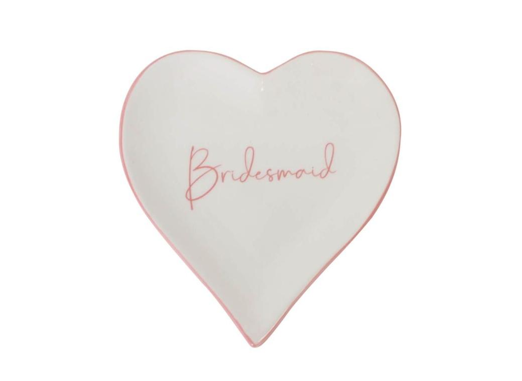 Bridesmaid Trinket Plate