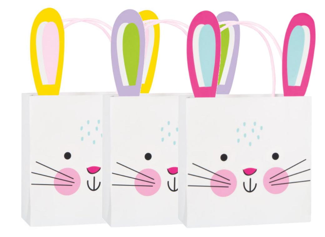 Bunny Treat Bags 3pk