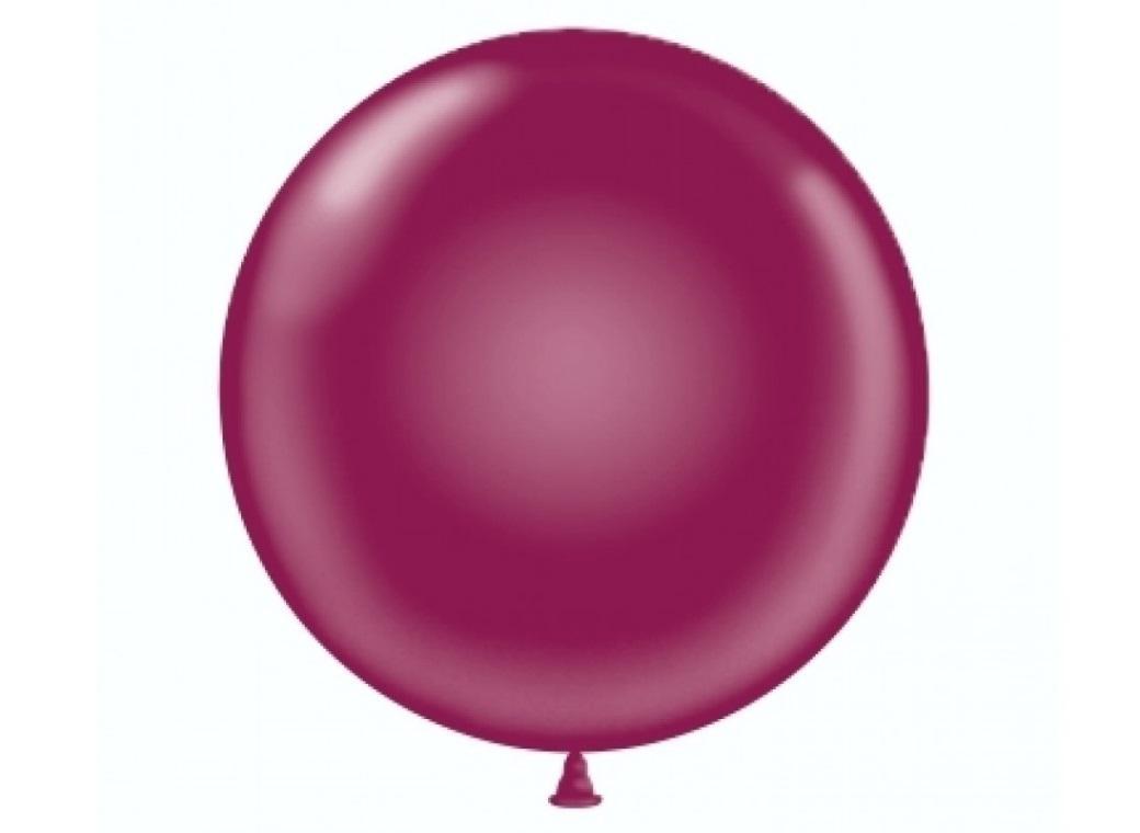 43cm Balloon - Burgundy