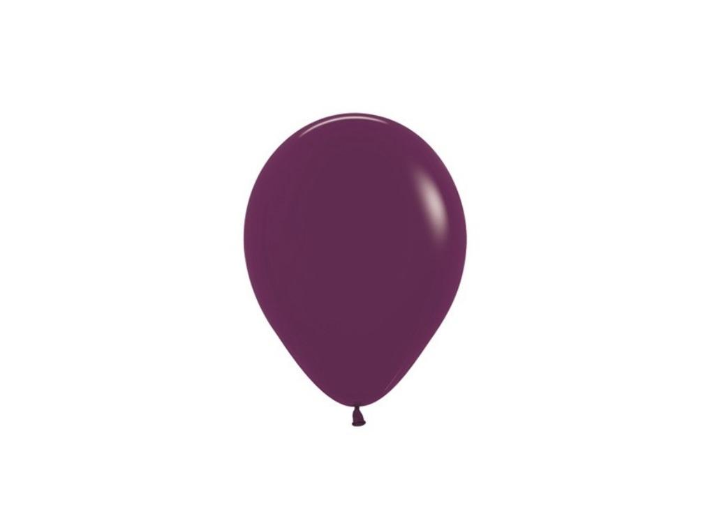Burgundy 5in Balloons 5pk