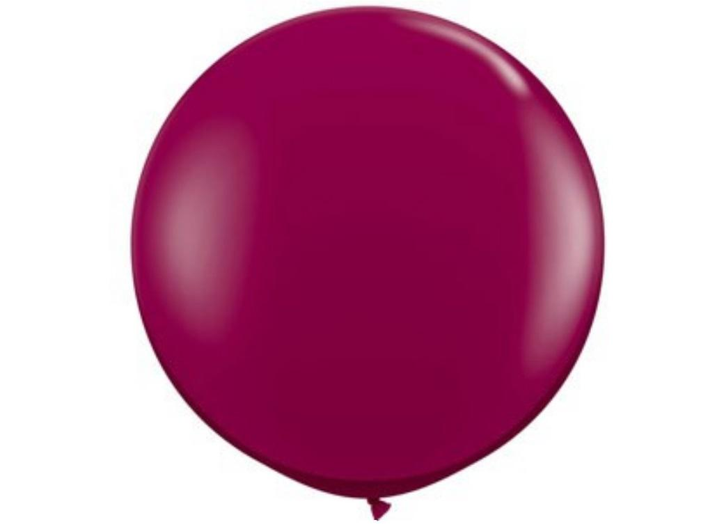 Jumbo Balloon - Jewel Burgundy
