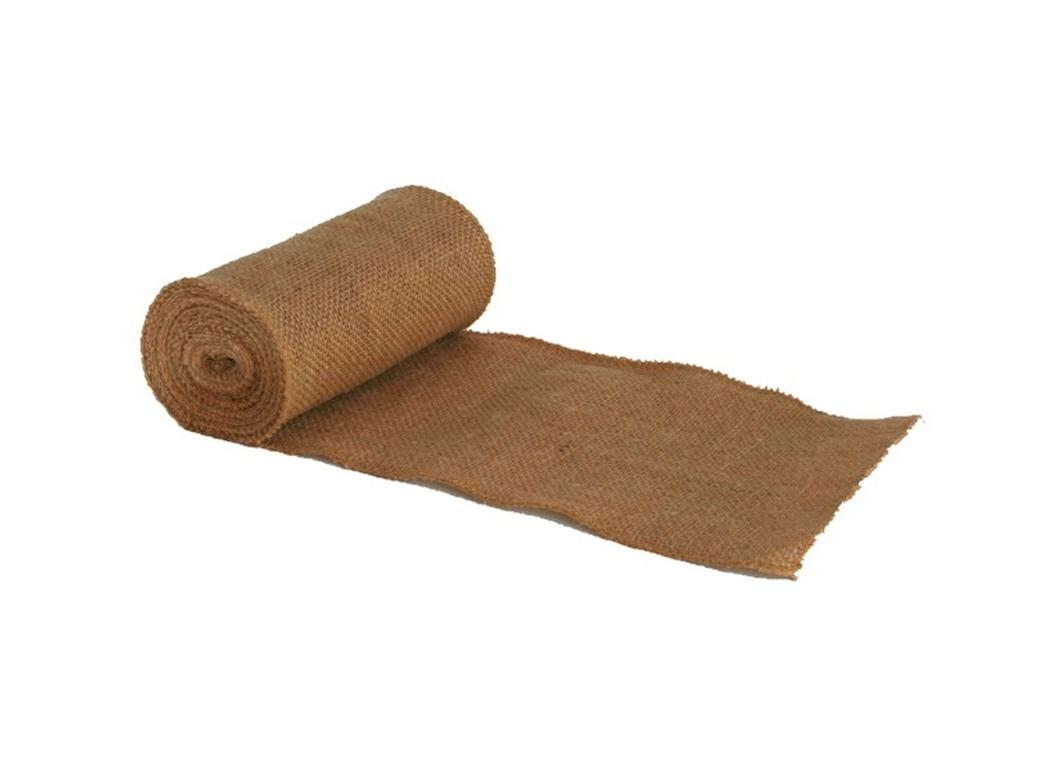 Natural Burlap Roll 15cm x 4.5m