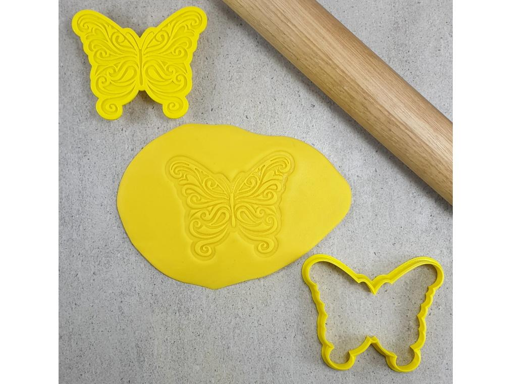 Butterfly 3D Embosser & Cutter Set