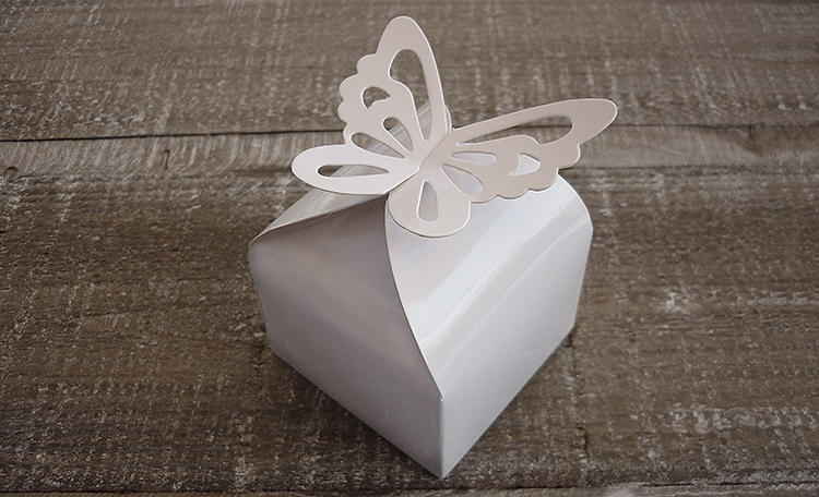 Butterfly Mini Favour Box