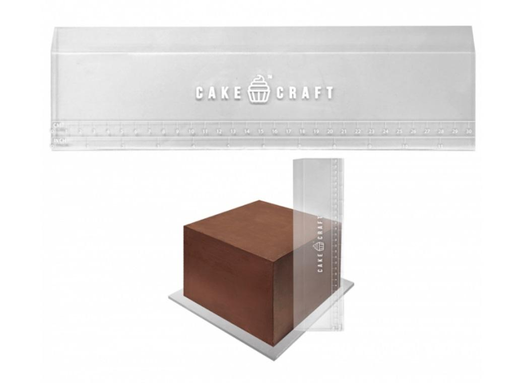 Cake Craft Acrylic Scraper 12in