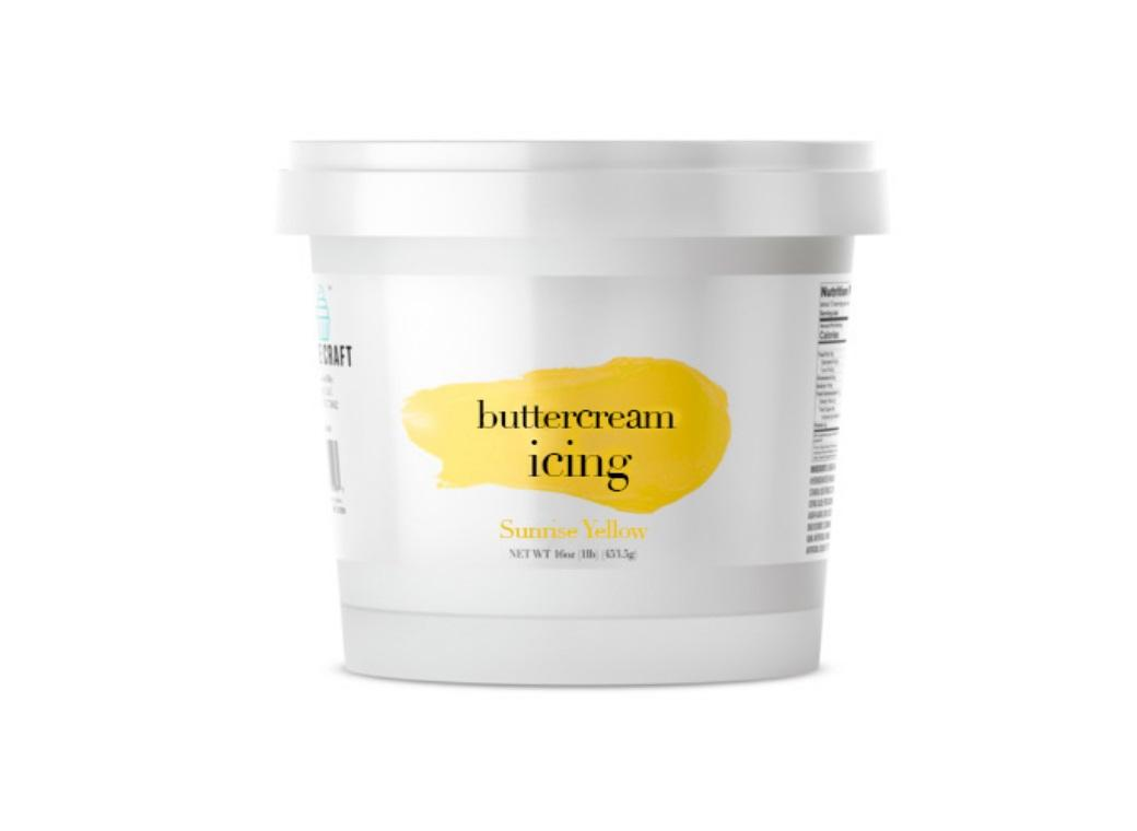 Cake Craft Buttercream - Sunrise Yellow BB July 20
