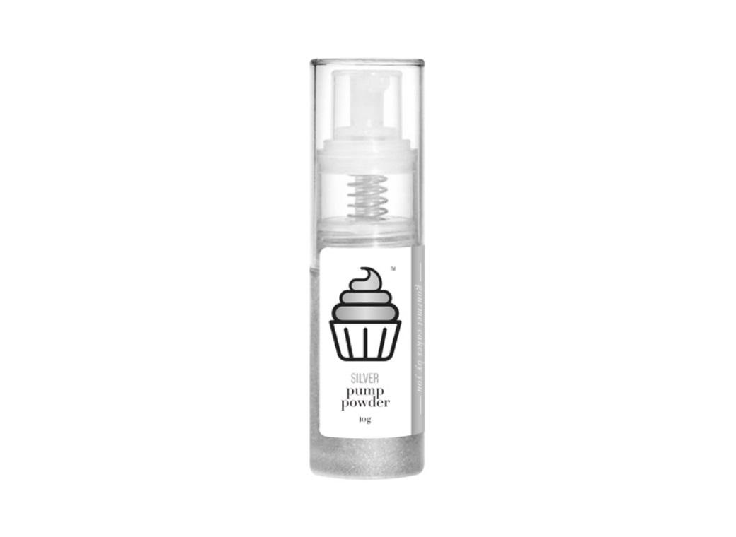 Cake Craft Pump Powder Silver