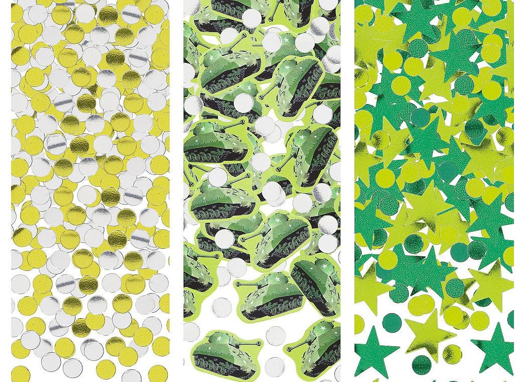 Camouflage Confetti Value Pack