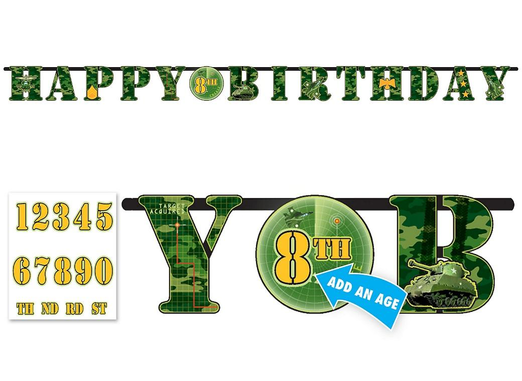 Camouflage Add an Age Banner