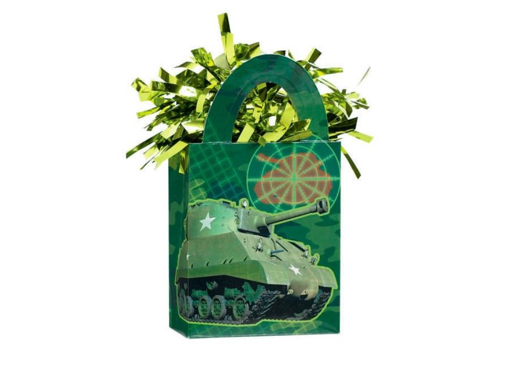 Camouflage Balloon Weight Tote