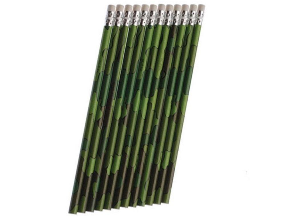 Camouflage Pencils 12pk