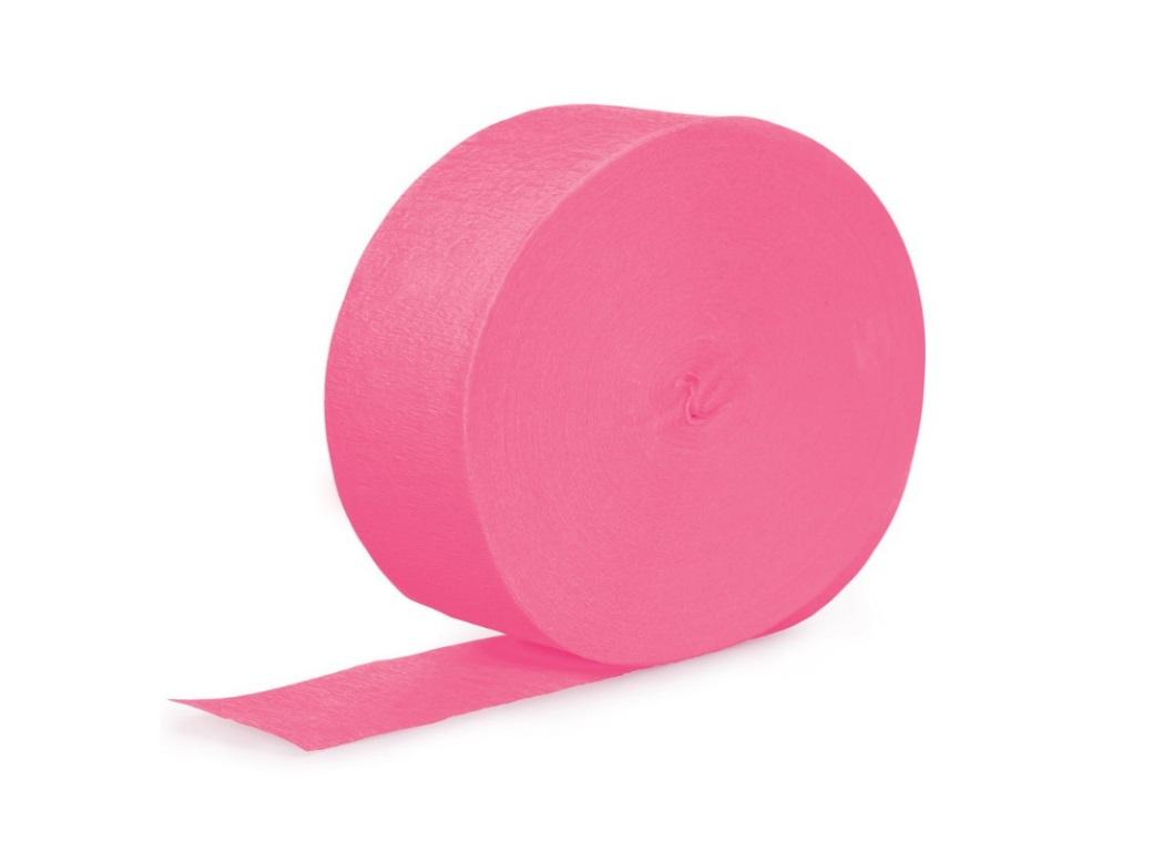 Crepe Paper Streamer - Candy Pink