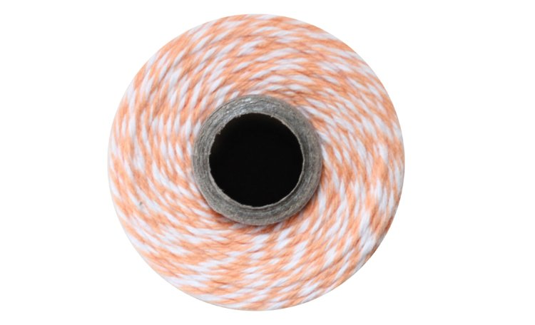 100% Cotton Bakers Twine - Cantaloupe