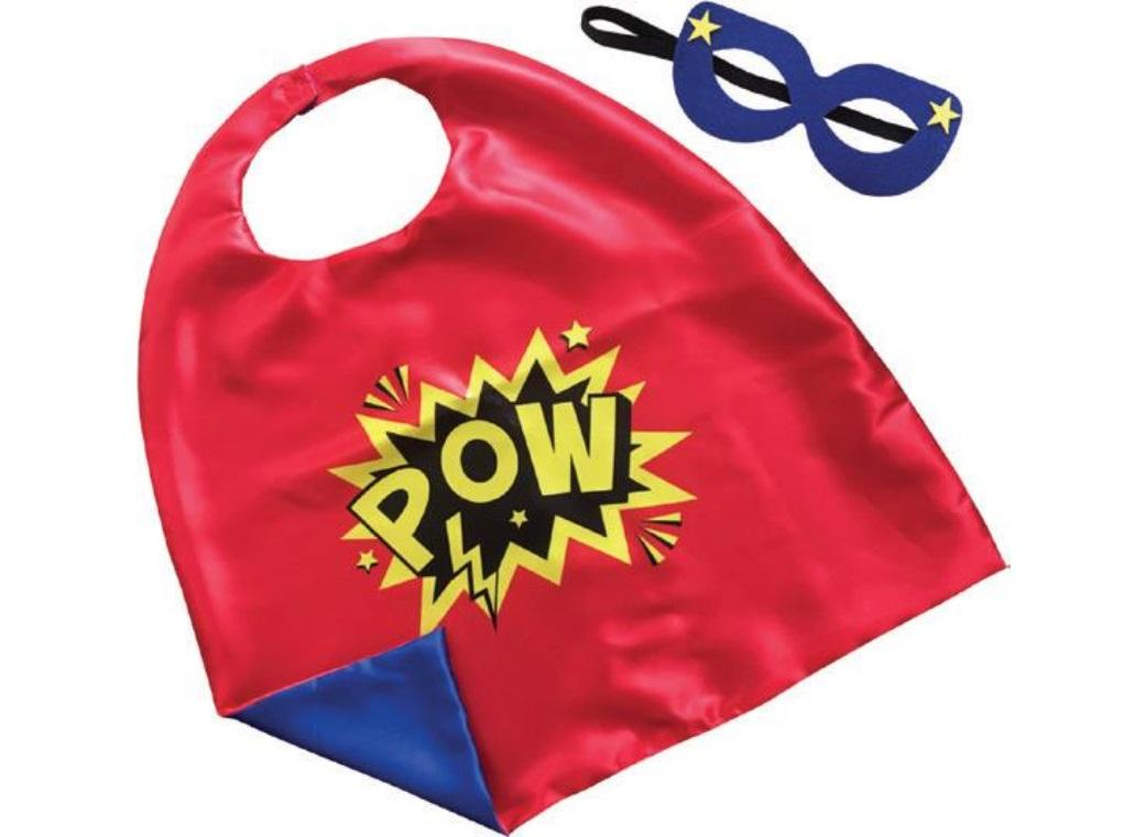 Cape & Mask Set - Pow!