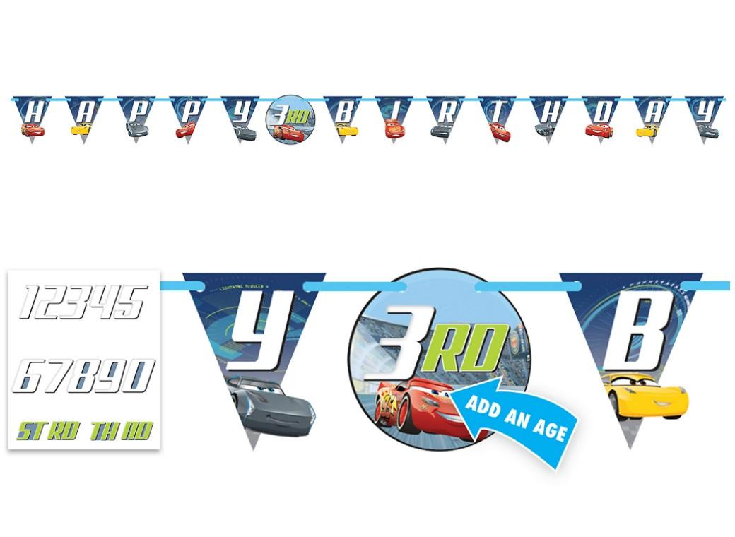 Cars 3 Add an Age Banner