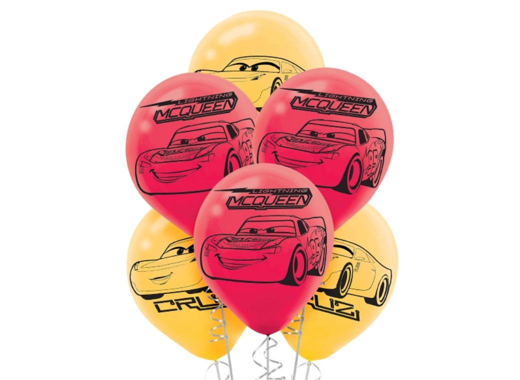 Cars 3 Balloons 6pk
